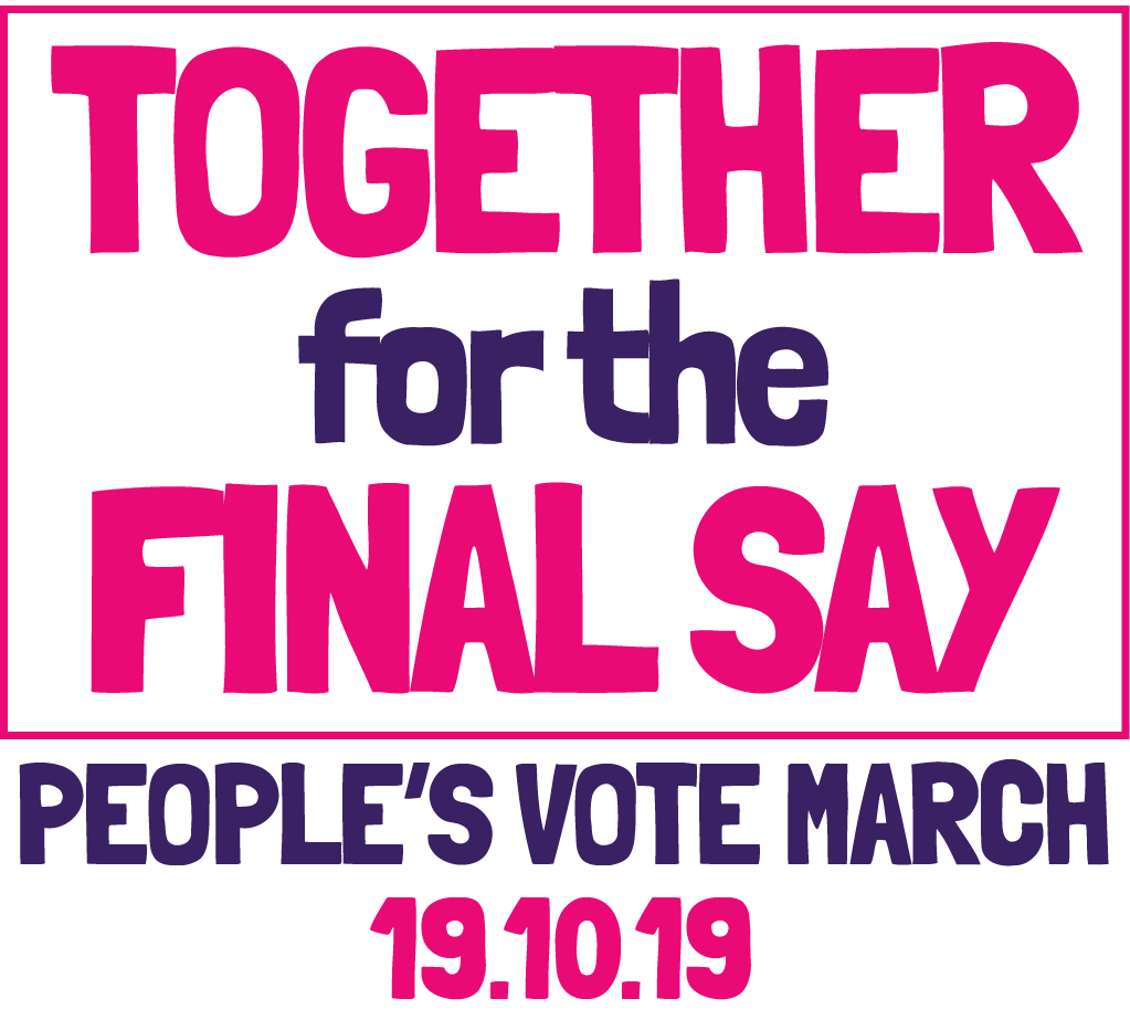 March Together for the Final Say logo